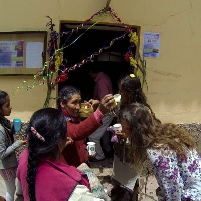 hypnothérapeute, inauguration du centre avec les populations locales et paysannes